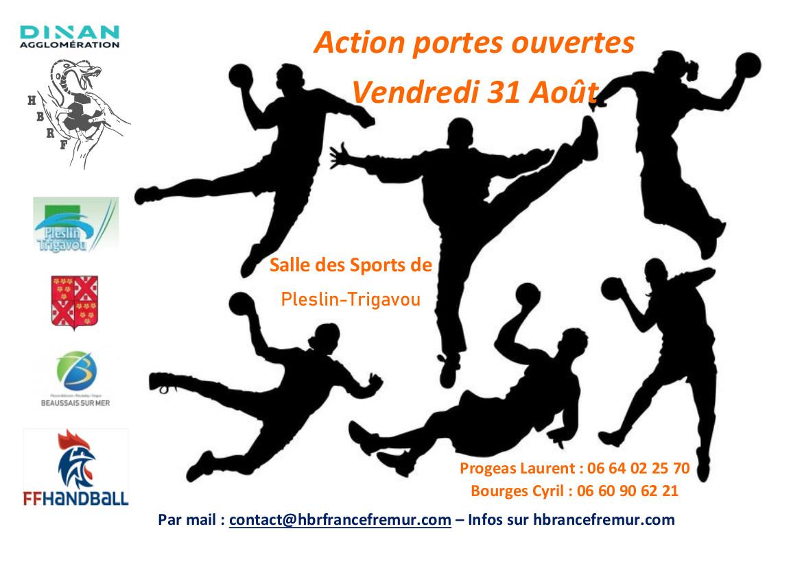 Venez découvrir le HBRF et le handball ….